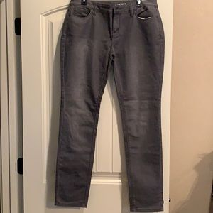 The Limited gray wash jean